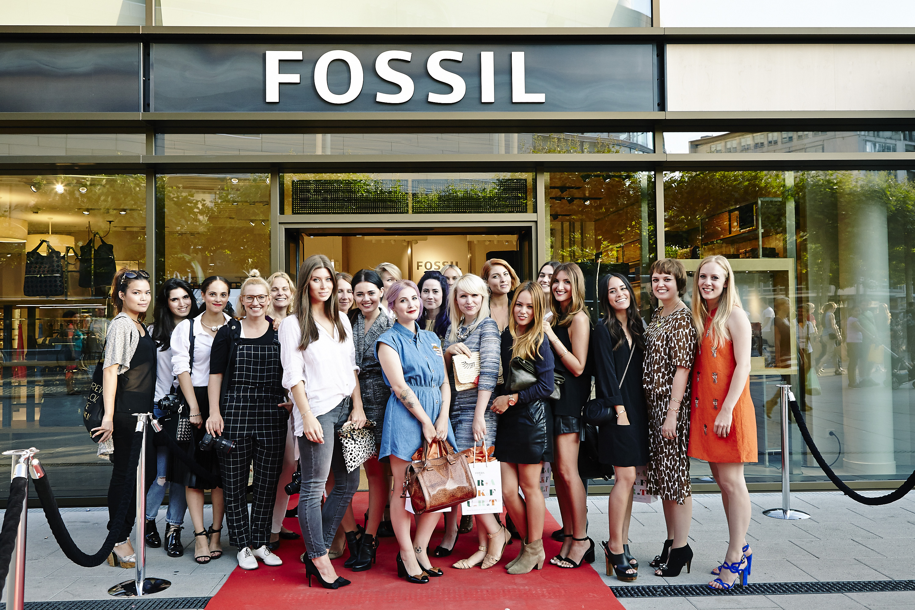Fossil Flagship-Store Opening