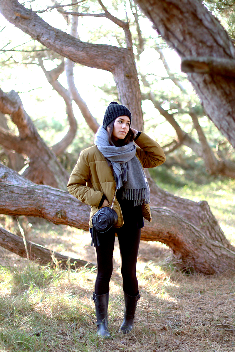 Denmark Outfit with the Feather Down Jacket from Weekday