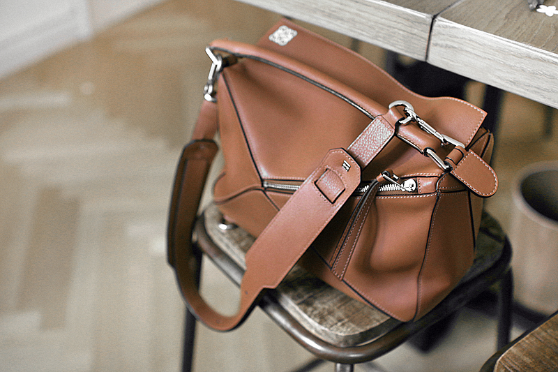 Loewe Puzzle Bag in brown