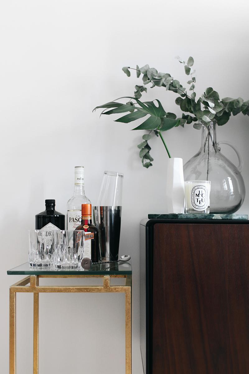 Interior Inspiration - The living room. Bar tray