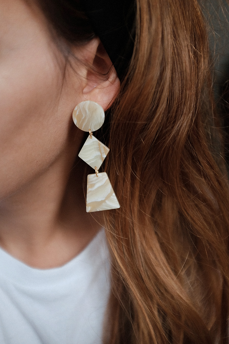 Jewelry Trend: Acetate Earrings and where to shop them