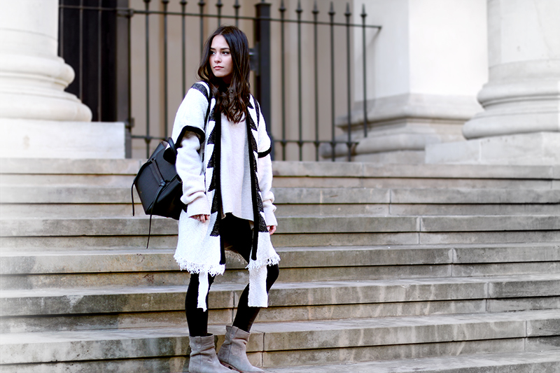 Céline Belt Bag, Poncho, Samuel, Isabel Marant, Boots, Outfit, Video