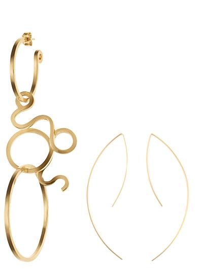 Statement Earrings - Ganni & By Boe