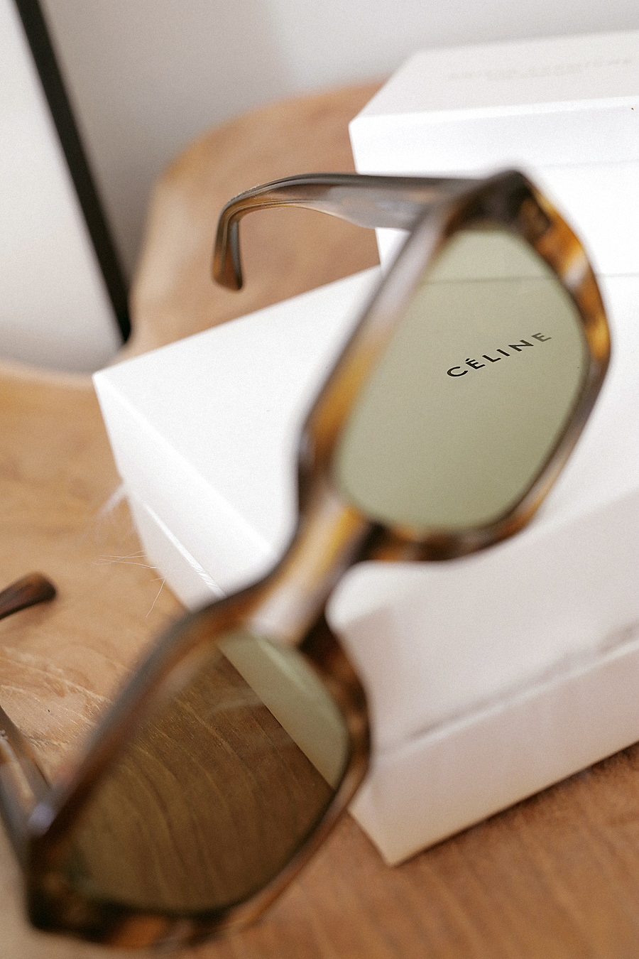 Favorites Video: Céline oversized tortoiseshell sunglasses